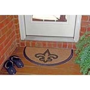 New Orleans Saints NFL Half Moon Door Mat