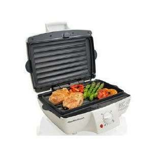New Hamilton Beach Mealmaker Grill 123 Sq. In. Of Grilling