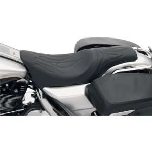 Specialties Flame Stitch Predator Motorcycle Seat For Harley Davidson