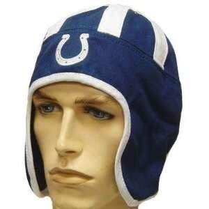 INDIANAPOLIS COLTS BLUE WHITE HELMET HEAD HAT CAP
