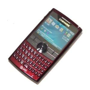 Phone with QWERTY Keyboard, WM6, GPS, 2 MP Camera and 3G Support (Red