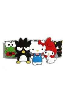 Hello Kitty Sanrio 50th Anniversary Friends Rubber Bracelet Clothing