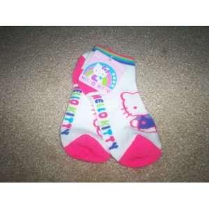 Hello Kitty Socks 7 9 White
