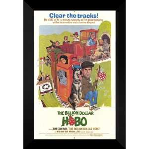 Billion Dollar Hobo 27x40 FRAMED Movie Poster   Style A