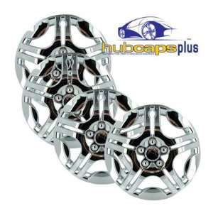 Chevrolet Malibu Style 15 Inch Chrome Hubcaps Wheel Covers Automotive