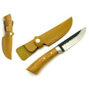 Full Tang Hardwood Handle Hunting Knife:  Sports & Outdoors