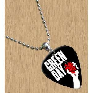 Day American Idiot Premium Guitar Pick Necklace Musical Instruments