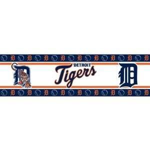 MLB DETROIT TIGERS MVP WALL BORDER
