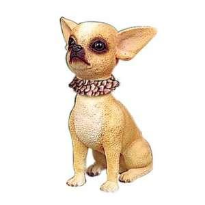 Hawaiian Aloha Chihuahua Mini Bobble head Doll Toys & Games
