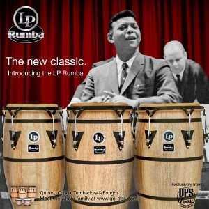LP Latin Percussion Rumba 10 inch, 11 inch & 12 inch Conga