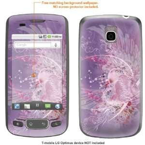 STICKER for T Mobile LG Optimus case cover Optimus 146 Electronics