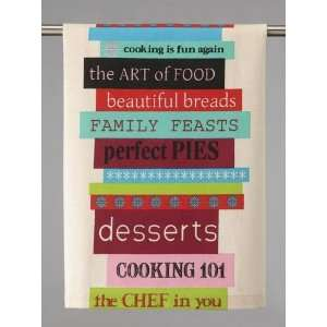 Anna Maria Horner Cookbook II Kitchen Towel