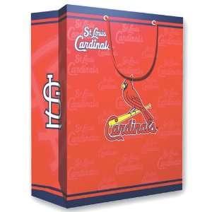 Saint Louis Cardinals MLB Medium Gift Bag (9.75 Tall
