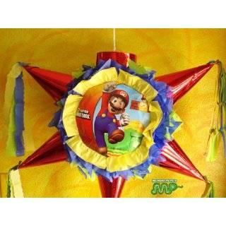 Pinata Super Mario Bros Piñata Hand Crafted 26x26x12[Holds 2 3 Lb
