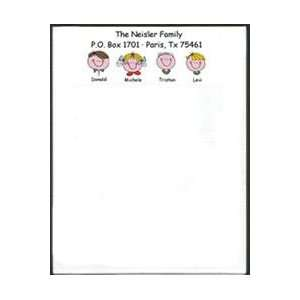 Cartoon Character Family Note Pads Office Products