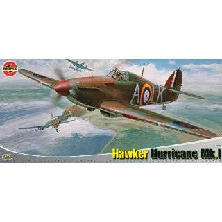 24 Scale Hawker Hurricane Mk1 Military Aircraft Classic Kit Series 14