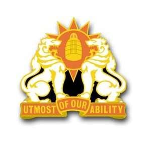 United States Army 35th Signal Brigade Unit Crest Patch Decal Sticker
