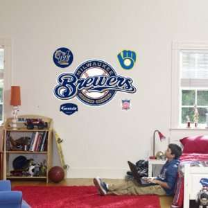 Milwaukee Brewers Logo , 50x29: Home & Kitchen