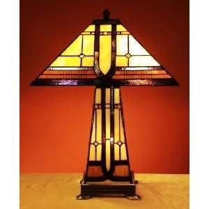Stained Glass Mission Tiffany Lamp CL200603 Everything
