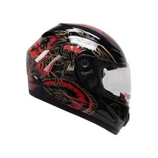 Dragon Full Face Motorcycle Street Sport Bike Helmet DOT (XLarge