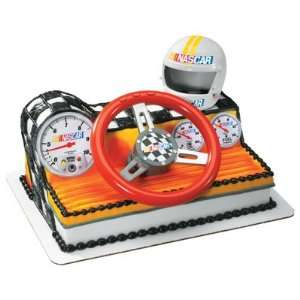 Nascar Racing Car Dashboard Cake Topper Kit:  Home