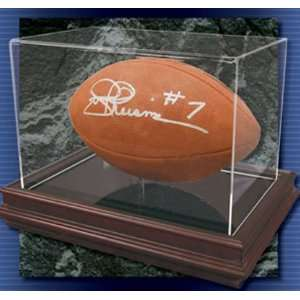 NFL Football Boardroom Collection Logo Display Case