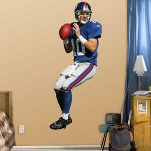 NFL Eli Manning Vinyl Wall Graphic Decal Sticker Poster