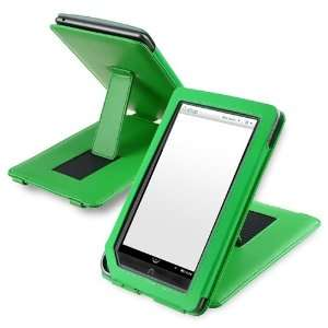 Case with Stand for Barnes & Noble Nook Color, Green Electronics