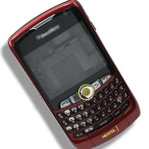 RIM BlackBerry 8350 8350i Full Red Housing Cover Case Faceplate Panel