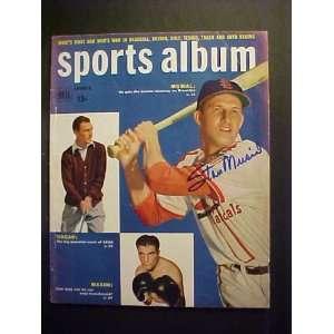 St. Louis Cardinals Autographed Summer 1950 Sports Album Magazine