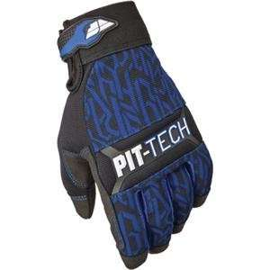 Fly Racing Pit Tech Pro Gloves   10/Blue: Automotive