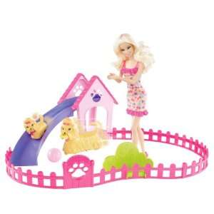 Barbie Puppy Play Park and Barbie Doll Giftset Toys & Games