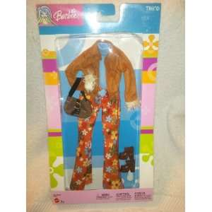 Barbie Trend Retro Flower Power Outfit Toys & Games
