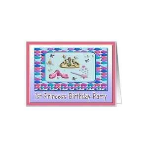 1st Princess Birthday Party Invitation Card Toys & Games