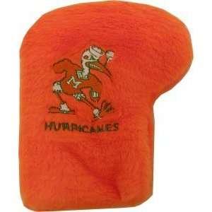 Miami Hurricanes Golf Putter Cover