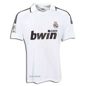 Spain Real Madrid Jersey & Short (White) Kids xs Sports