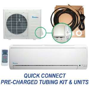 9,000 Btu Mini Split Ductless Air Conditioner Heat Pump  Quick Connect