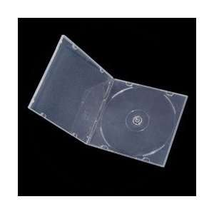 Slim Single CD/DVD Clear Case (50 pack) Electronics