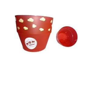 Plastic Popcorn Bowl with Insert Set of 2 Kitchen
