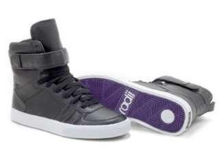 Radii Footwear Moonwalker Black Perf Mens High Top