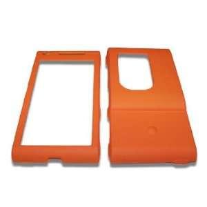 Modern Tech Orange Armor Shell Case/Cover for Sony