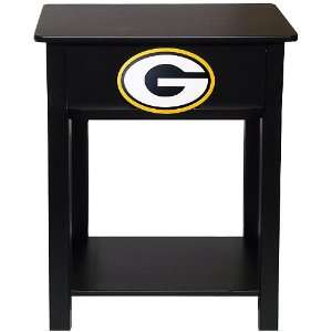 Fan Creations Green Bay Packers Logo Night Stand/Side