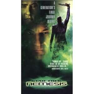 Star Trek   Nemesis [VHS]: Patrick Stewart, Jonathan