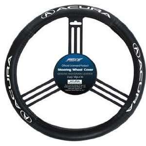 SW171 Genuine Leather Steering Wheel Cover, Acura Logo Automotive