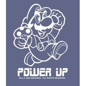 Nintendo Super Mario Bros. Power Up Window Decal Sticker 96 584