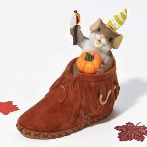 Charming Tails Brave Little Sole Mouse Figurine Patio