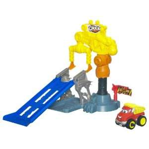 Tonka chuck and Friends Motorized Power Playard System Crazy Crane