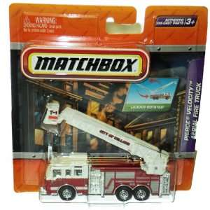Pierce Velocity Aerial Fire Truck Toys & Games