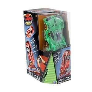 Air Hogs R/C Zero Gravity Micro Car   Green Toys & Games