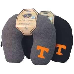 Tennessee Volunteers Black Travel Pillow